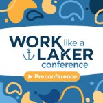 work like a laker conference preconference logo on October 1, 2020